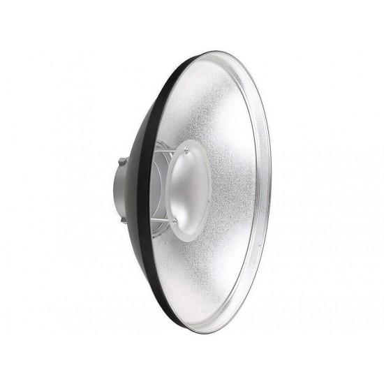 Godox BDR-S550 55cm Bowens Gümüş Beauty Dish