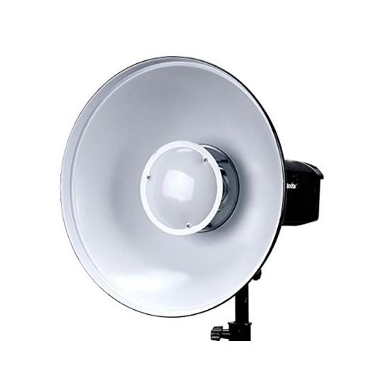Godox BDR-W420 42cm Bowens Beyaz Beauty Dish-Tas reflektör