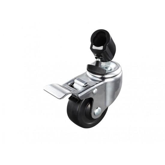 Godox LSA-06 3 Adet Frenli Işık Ayağı Tekerleği-Bağlantı Aksesuarları