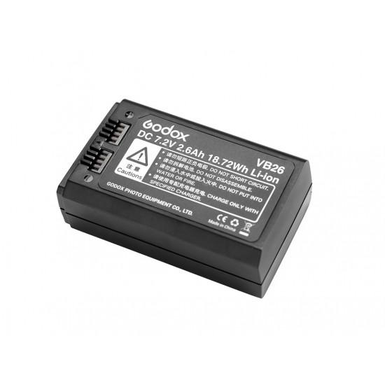 Godox VB26 V1 Flaş İçin Li-Ion Batarya