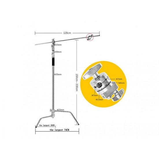 Arcury ML330B 330cm + 150cm Deve Boynu