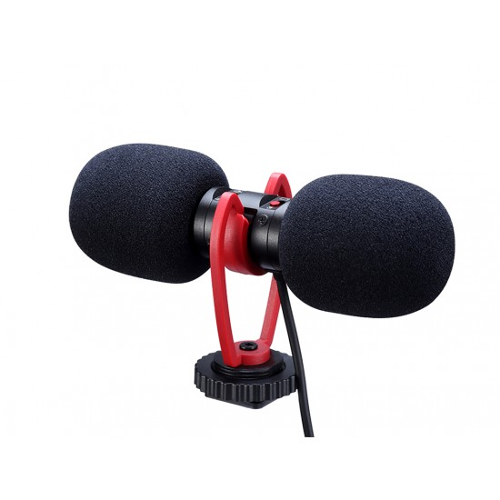 Arcury T-MIC Shotgun Stereo Mikrofon