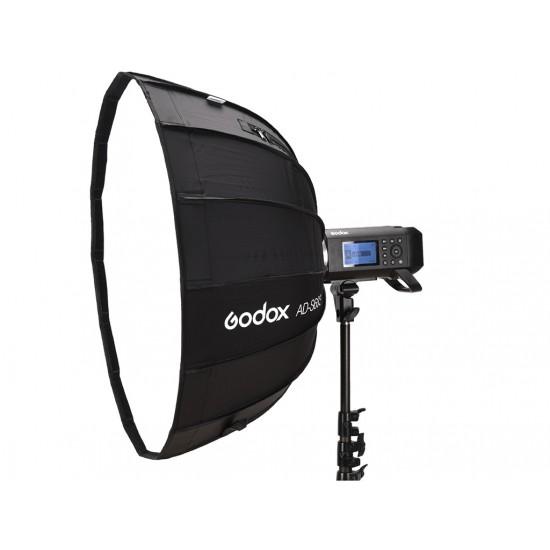 Godox AD-S65S AD400 Gümüş 65cm Parabolik Softbox-Flaş aksesuarları
