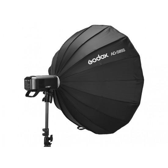 Godox AD-S85S AD400 Gümüş 85cm Parabolik Softbox-Flaş aksesuarları
