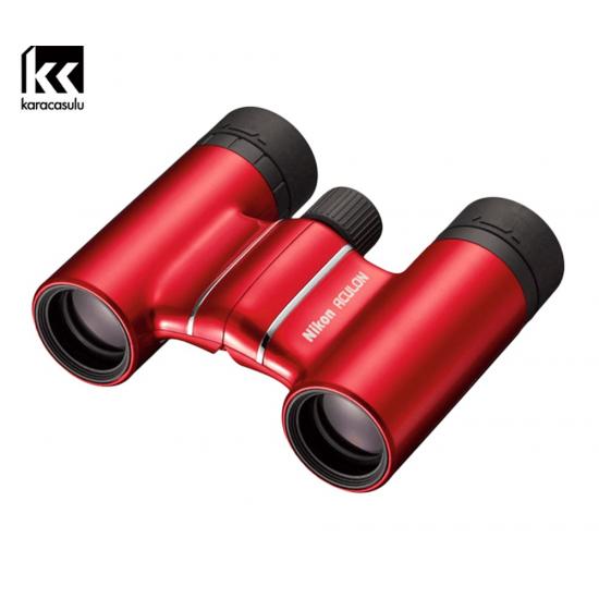 Nikon Binoculars Aculon T01 10x21 Red
