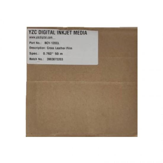YZC Digital 76cm*50m Deri Laminasyon Film