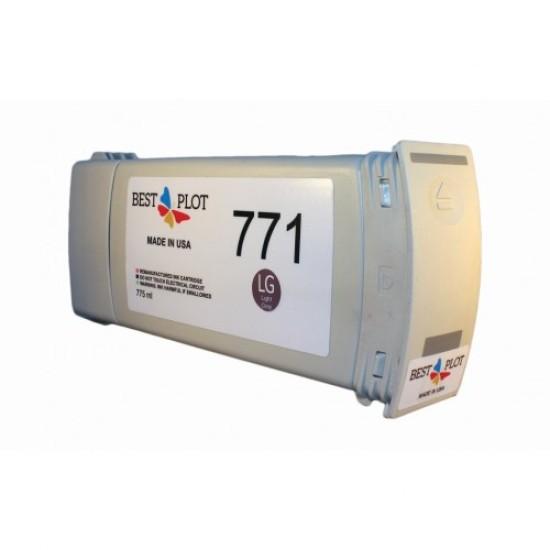 Best Plot HP771 Light Grey (Açık Gri) 775ml Muadil Mürekkep Kartuşu