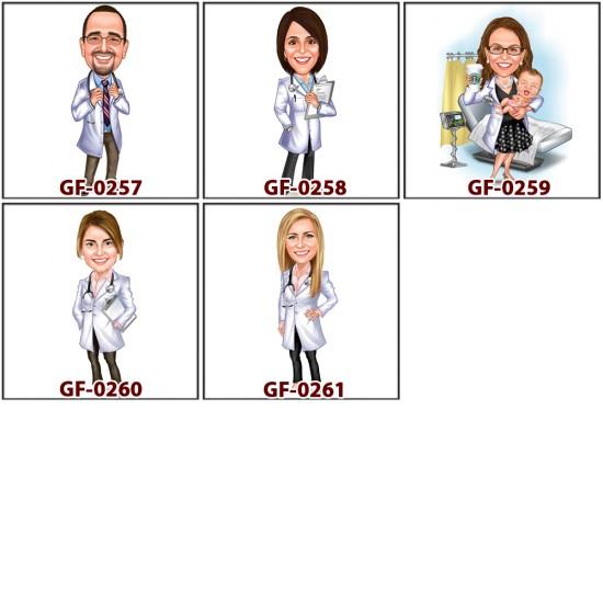 Sağlıkçılar biblo