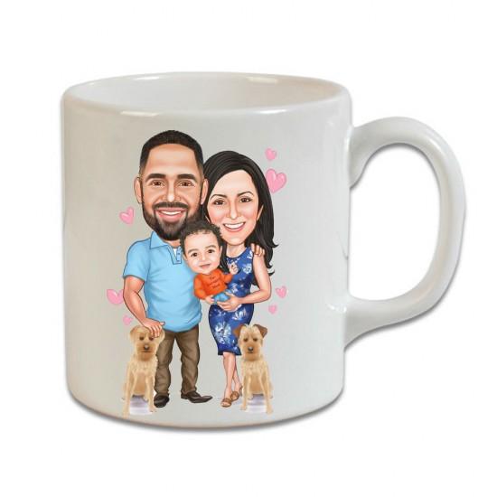 Aile Beyaz Kupa