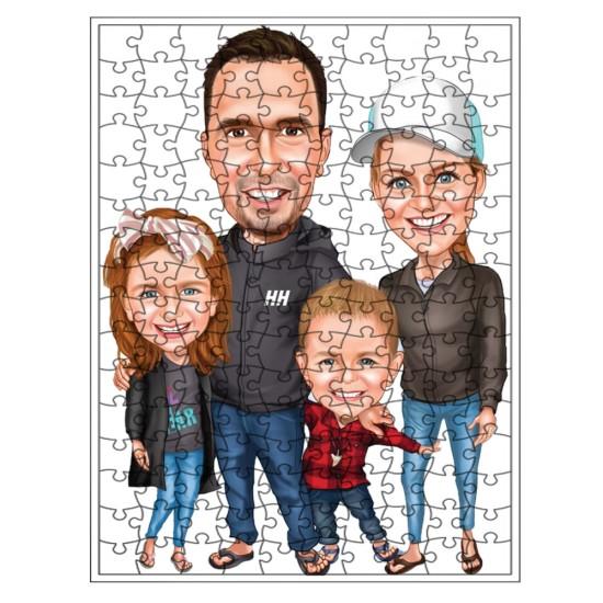 Aile Puzzle 1000 parça