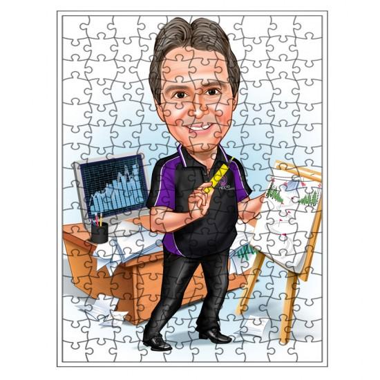 Tek bay Puzzle 500 parça