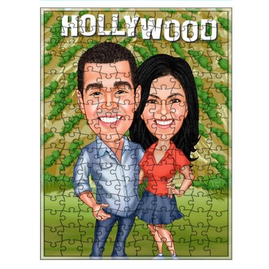 Çiftler Puzzle 1000 parça