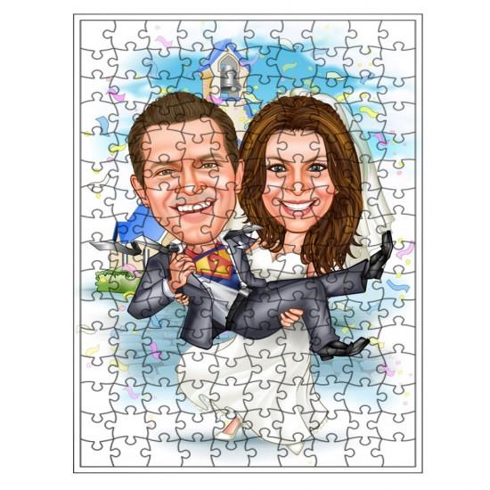 Gelin Damat Puzzle 500 parça
