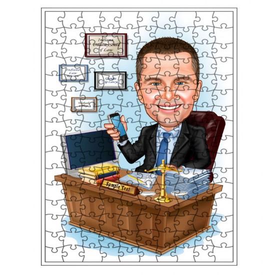 Meslekler Puzzle 1000 parça