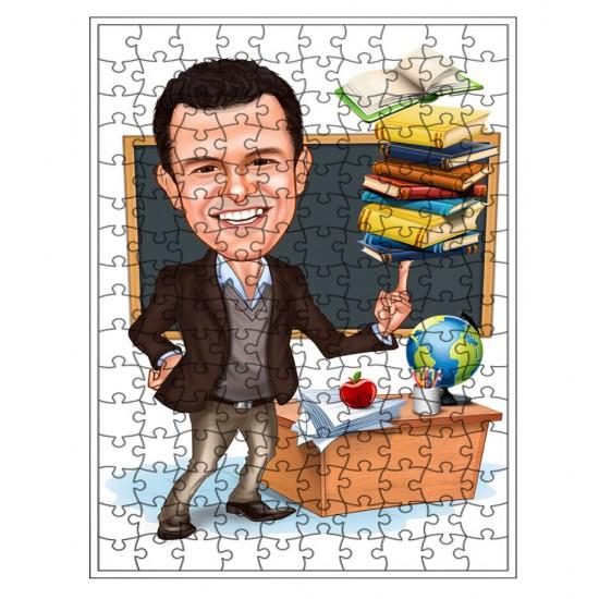 Öğretmenler Puzzle 500 parça