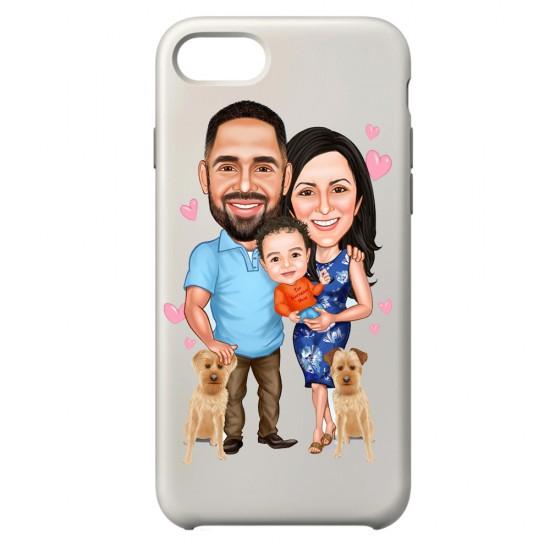 Aile Telefon Kapağı