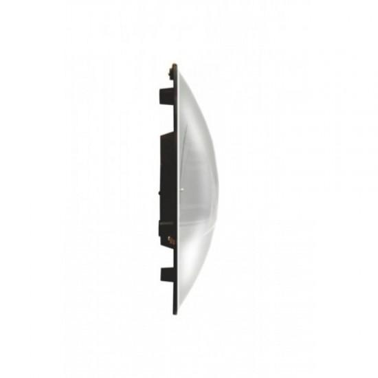25 cm 12 li Duvar Saati Bombeli camlı