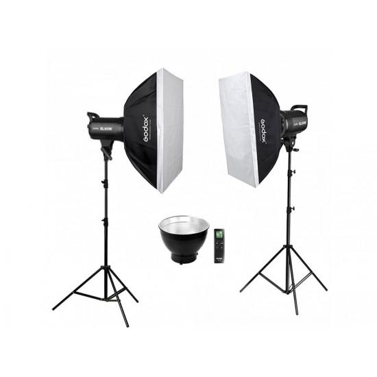 Godox SL-60W 2'li Led Video Işığı Eko Kit-Led ışıklar