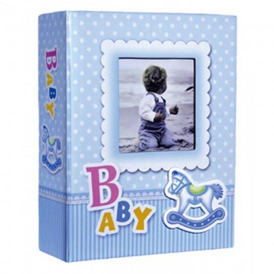 10x15 100 lü bebek albümü mavi