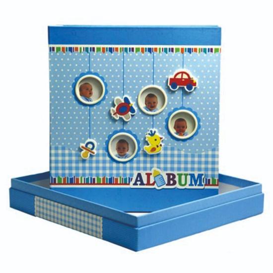 10x15cm 180 li mavi bebek albümü-1