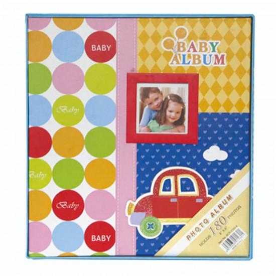 10x15cm 180'li mavi bebek albümü-4