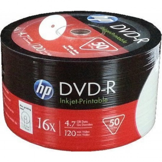 HP DVD-R 16X 50li Spindle 4.7GB