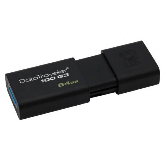 Kingston 64 GB DataTraveler 100 G3 DT100G3-64 USB Bellek-Flaş Bellek - Hafıza kart ve Okuyucuları