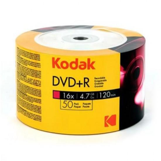 Kodak DVD+R 16X 4.7 GB 50'li Boş DVD