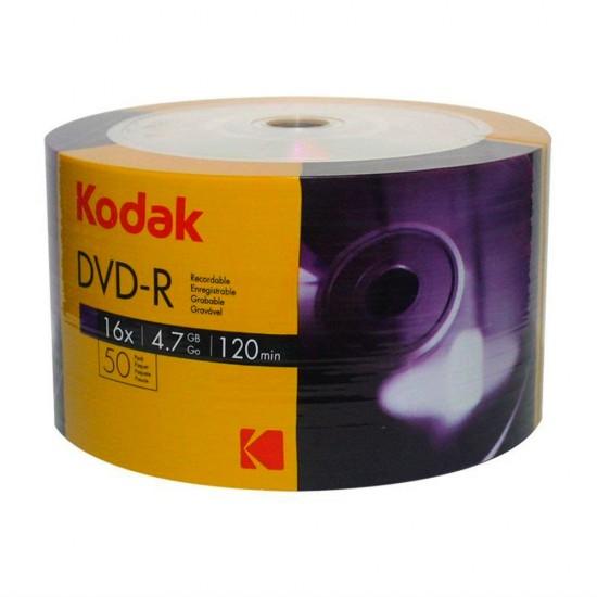 Kodak DVD-R 16X 4.7 GB 50'li Boş DVD