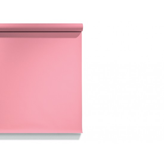 Carnation Pink 2.72 x 11 Metre Fon Kağıdı