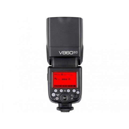 Godox V860II Canon Uyumlu Tepe Flaşı
