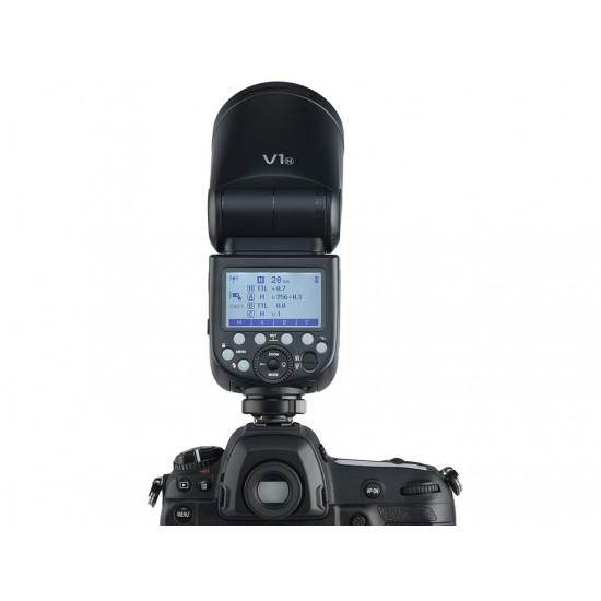 Godox V1 Nikon Uyumlu Yuvarlak Kafa Flaş