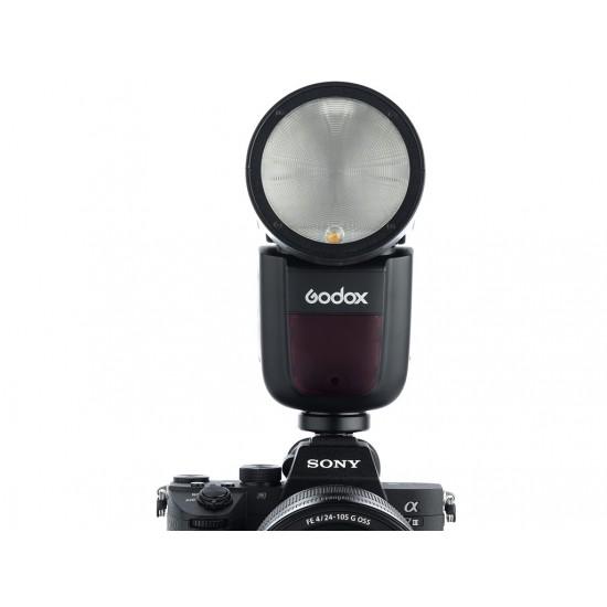 Godox V1 Sony Uyumlu Flaş (Yuvarlak Kafa)