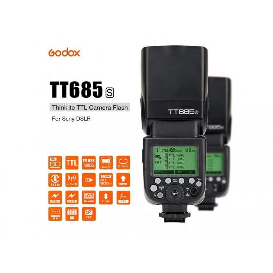 Godox TT685S Sony Uyumlu Tepe Flaşı