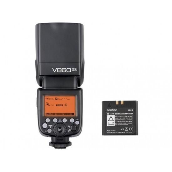 Godox V860II Sony Uyumlu Tepe Flaşı
