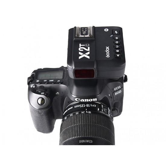 X2T-C Canon Uyumlu TTL Flaş Tetikleyici-Canon Uyumlu Tetikleyiciler