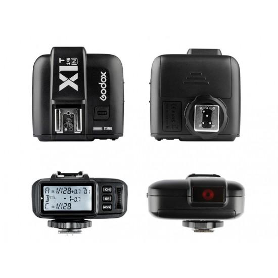 Godox X1T-N Nikon Uyumlu TTL Flaş Tetikleyici