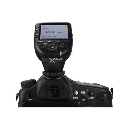 Godox XPRO-S Sony Uyumlu TTL Flaş Tetikleyici