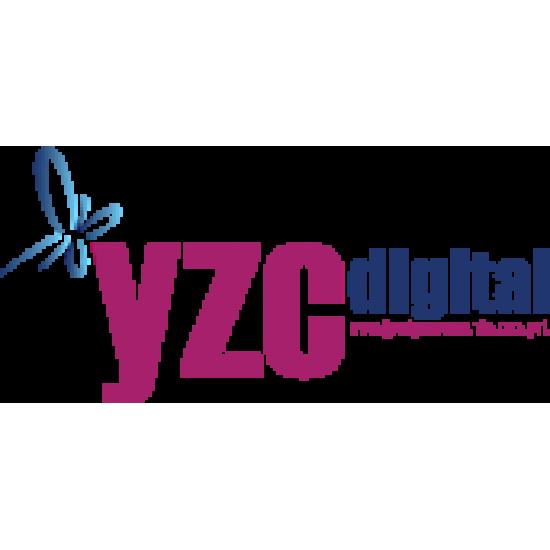 YZC Digital 61cm*30m Mat Kanvas Tual Tablo Baskı Bezi